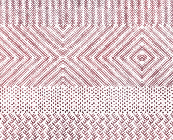carta da parati grafite modello berbera viola disegnata a mano by niva design