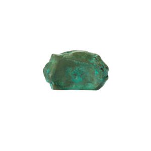 pomello di design pomello per mobili pomello ottone acidato verde modello impronta pietra by niva design