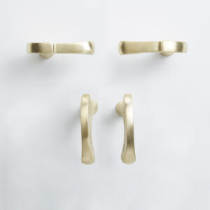 pomello di design pomello per mobili pomello ottone modello inca evolution by niva design