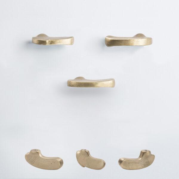 pomello di design pomello per mobili pomello ottone modello inca by niva design