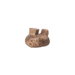 pomello di design pomello per mobili pomello ottone modello pietra by niva design