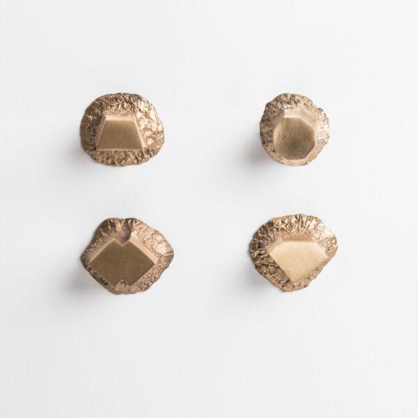 pomello di design pomello per mobili pomello ottone modello solido by niva design