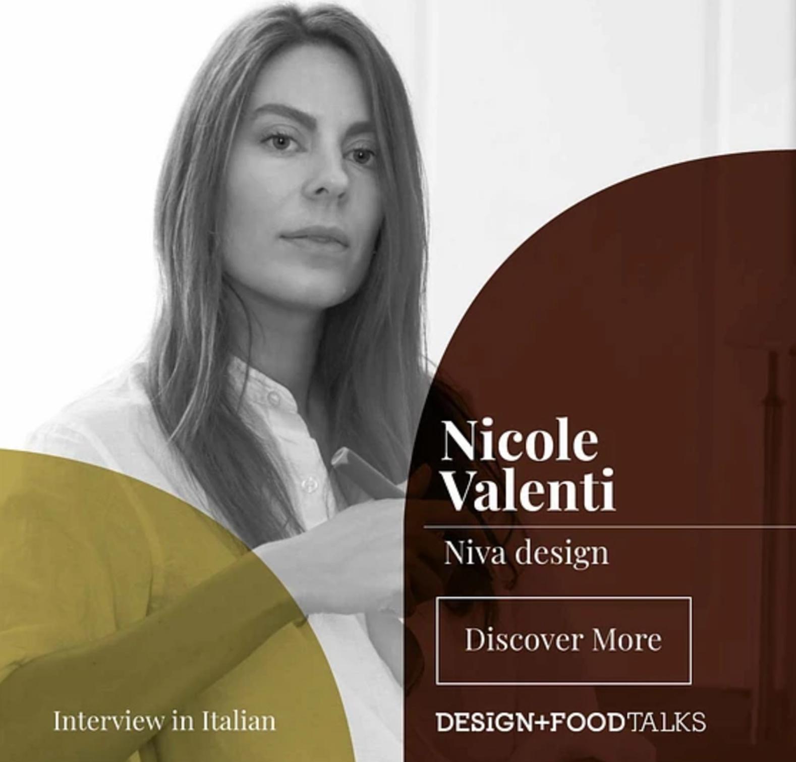DESIGN + FOODTALKS with Nicole Valenti